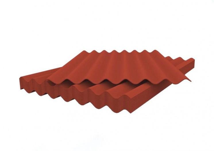 Шифер волновой красный 5,8*1130*1750 Белгород    купить в Екатеринбурге в интернет-магазине Twowin